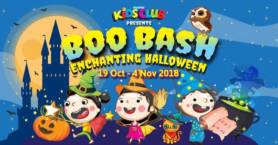 Vivocity kids club halloween 2018