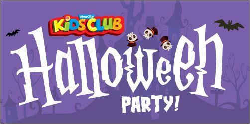 vivocity kidsclub halloween party