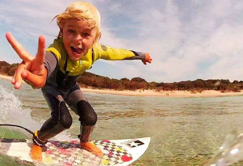 Big Wave Surfing School