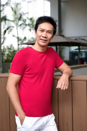 Father and Actor Brandon Wong