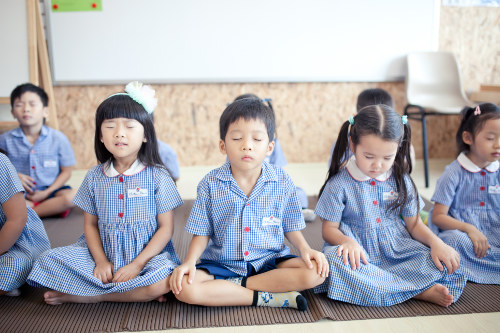 Mindfulness program in preschools