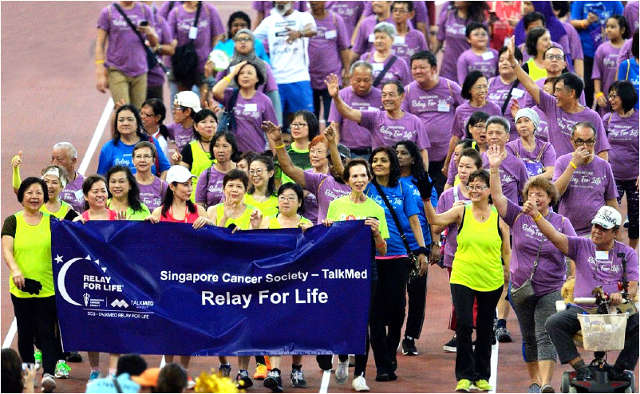 Singapore Cancer Society – TalkMed Relay For Life 2021