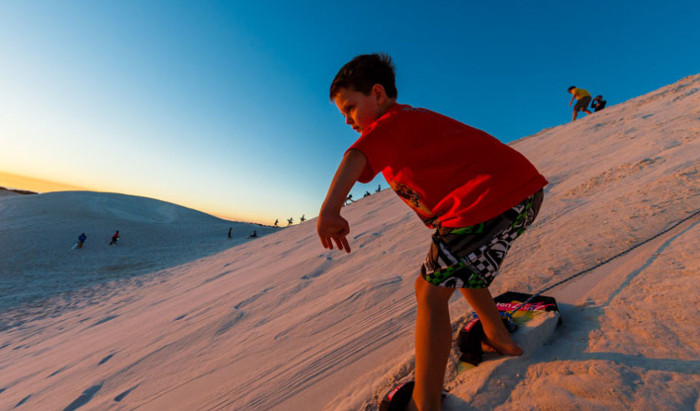 fun things to do with the family in perth - Sandboarding