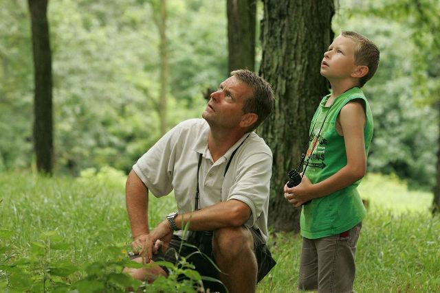 parental involvement outdoors