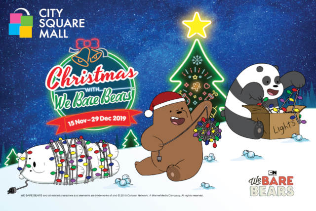 We Bare Bears Take Over City Square Mall This Holiday Season