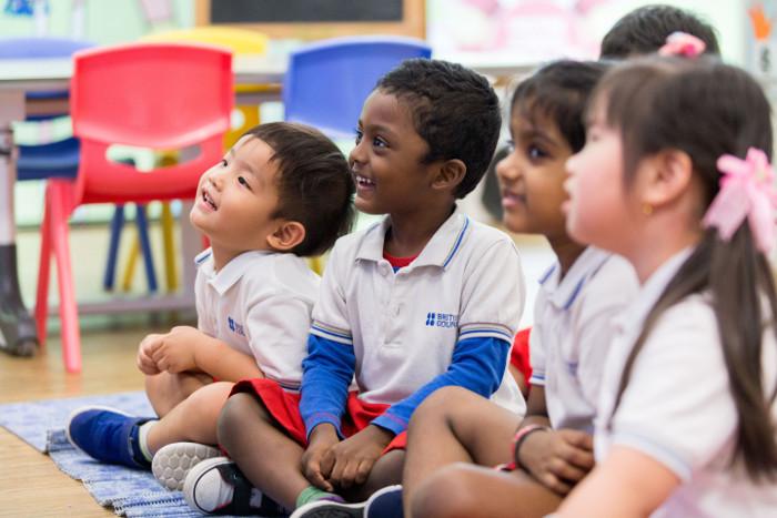 Bilingual Preschool program British Council Singapore