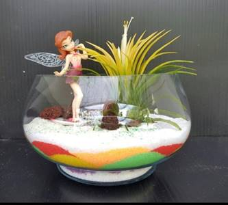 Fun with Sand Art Terrarium