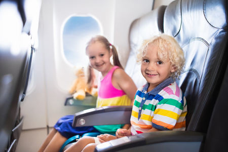 Ways To Entertain Your Kids On The Plane
