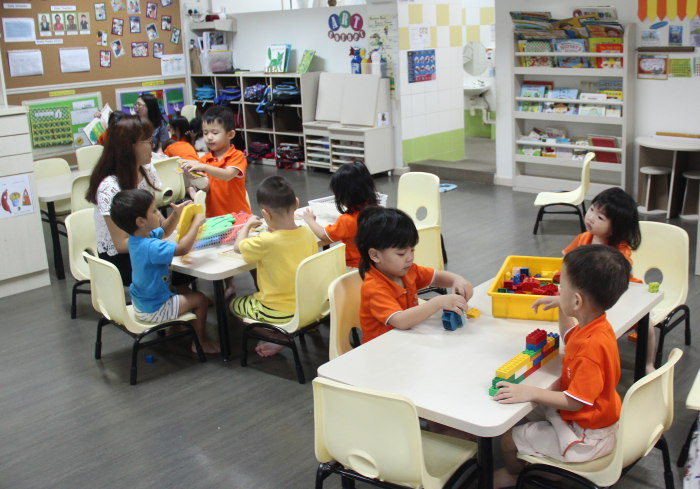NTUC First Campus Classroom