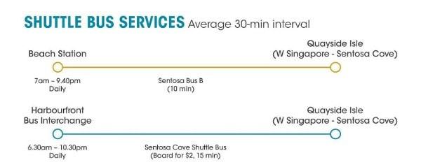 Sentosa shuttle bus
