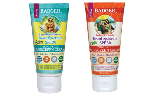Sunscreens Safe For Kids To Use by Badger Company