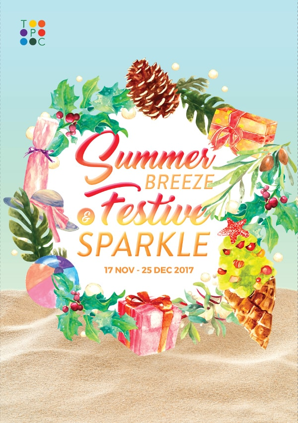 TPC Christmas 2017 - Summer Breeze and Festive Sparkle
