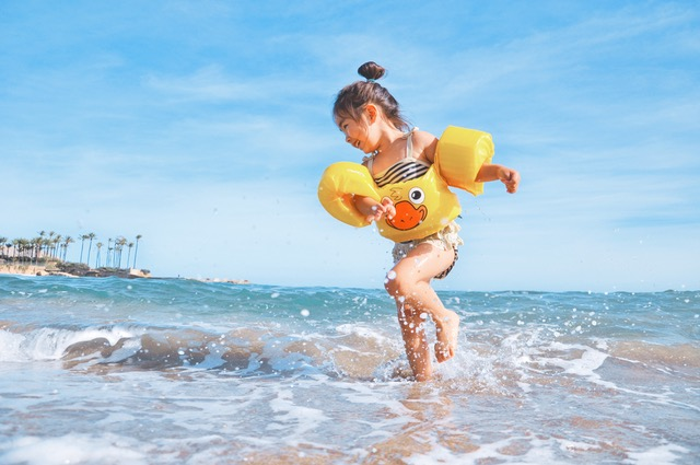 Travelling With Children Swimming Safety