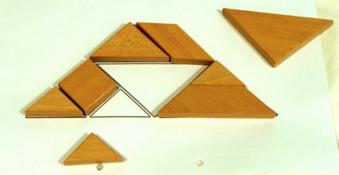 right brain activities for kids Tangram puzzle