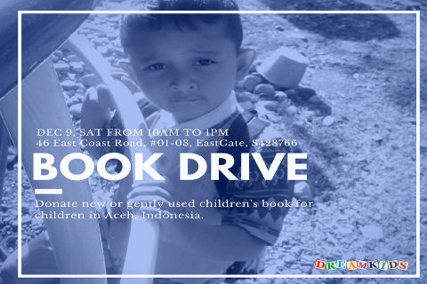 Dreamkids Book Drive