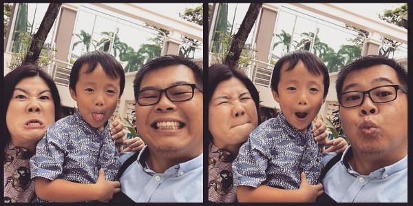 Singaporean parents adopt a child