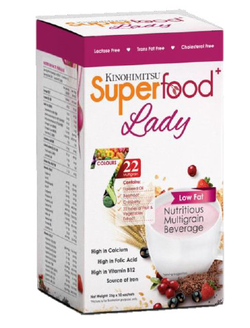 The New Age Parents Kinohimitsu Superfood+Lady