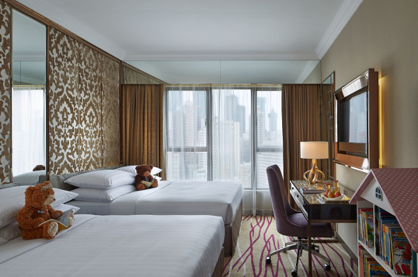Deluxe Family Quad Room Dorsett Wanchai Hong Kong