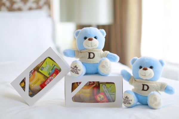Dorsett Wanchai Hotel Teddy Bear and Snack Box