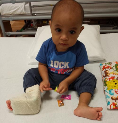 Juvenile Idiopathic Arthritis baby