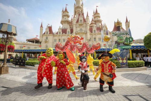 Shrek movie Universal Studios Singapore