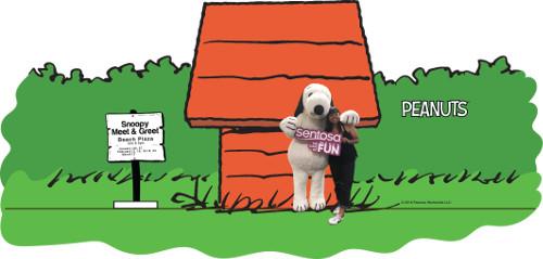 Snoopy Meet n Greet at Sentosa