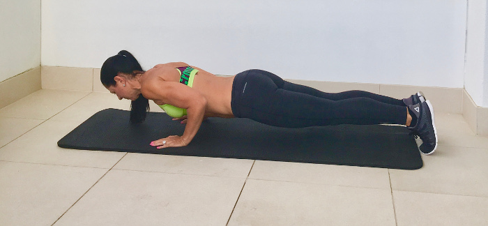 Fat-Busting Exercises Mummies Can Do At Home - Push ups