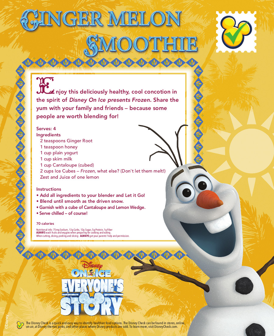 Ginger Melon Smoothie_Recipe Card