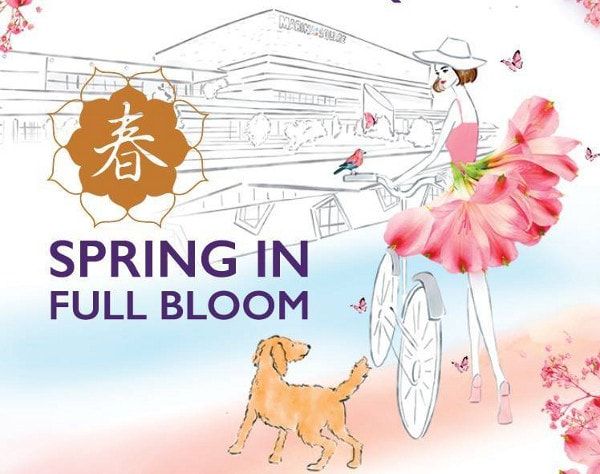 Stylish Floral Designs For A Trendy Lunar New Year  At Marina Square