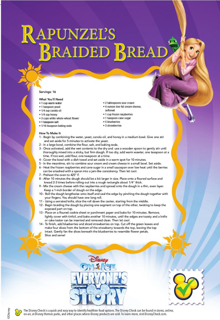 Rapunzels Braided Bread_Recipe Card