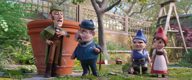 sherlock gnomes movie