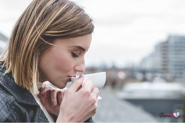 drinking coffee caffeine