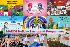 March School Holidays 2018 Activities for Kids