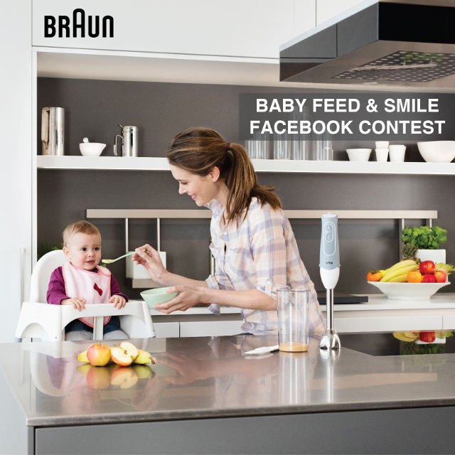 Braun Feed and Smile contest