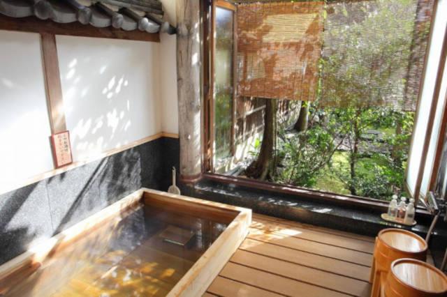 Interesting hotels to stay Arashiyama Benkei Kyoto Japan