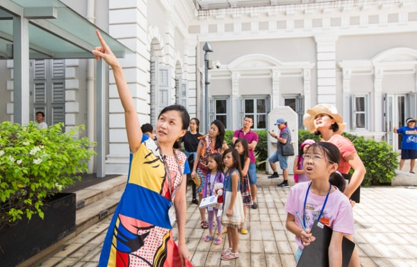 National Museum Building Singapore Tour for Families