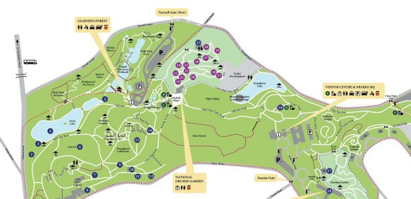 SGF Orchid Show Map