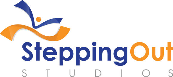 stepping out studio logo