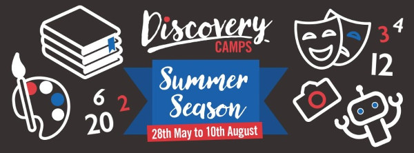 Discovery Camps holiday programme kids
