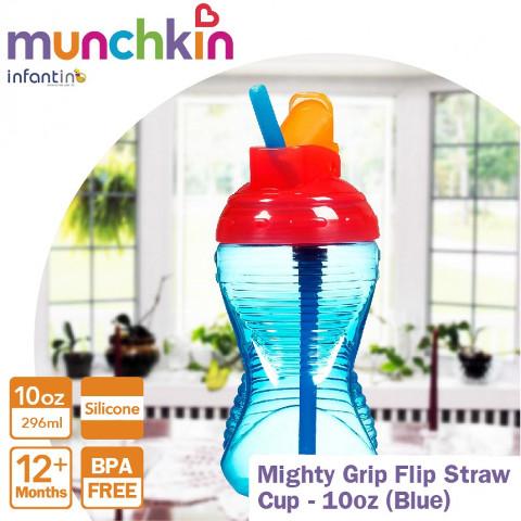 Munchkin Mighty Grip Flip Straw Cup