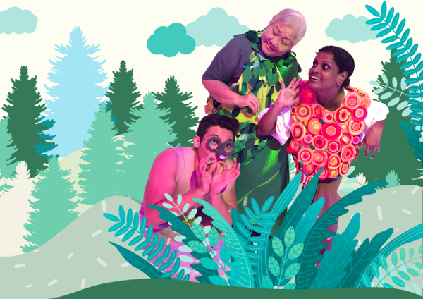 The Artground - Theatre Festival for Babies and Kids Into The Blue Forest