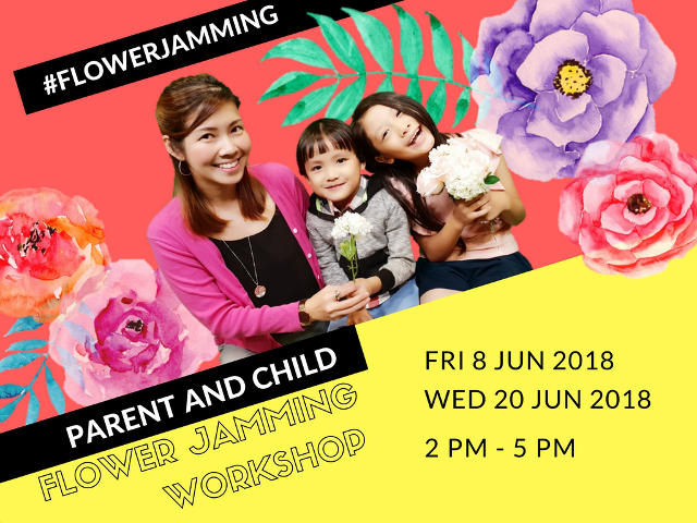 flower jamming workshop new