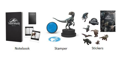 jurassic world hamper