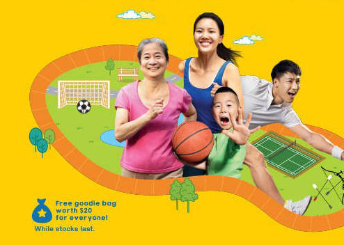 Health Promotion Board Family Fitness