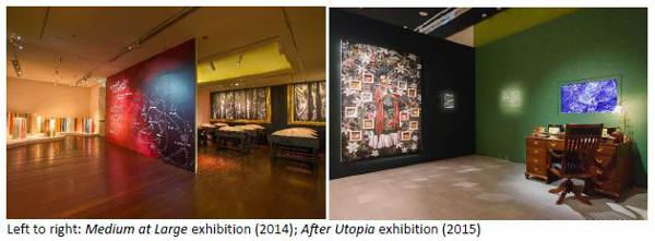 Installation In Singapore Art Museum
