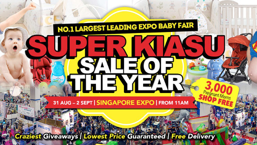 No. 1 Largest Leading Expo Baby Fair 2018