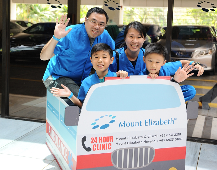 Speed saves lives doctor for a day Mount Elizabeth