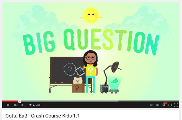 Youtube Channel Crash Course Kids