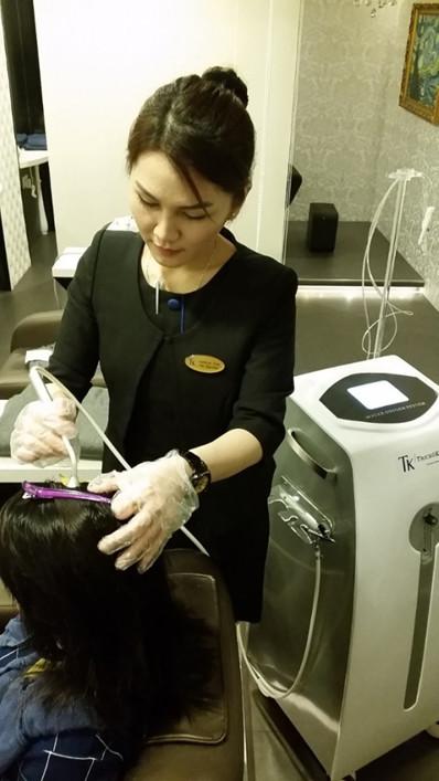 hair care for white hair trichokare