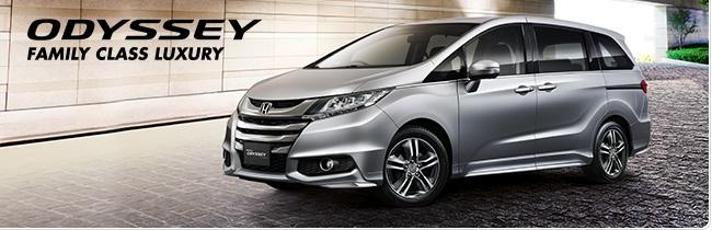 Best family car - Honda Odyssey